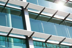 commercial sunshades glass curtain wall & storefront OKC
