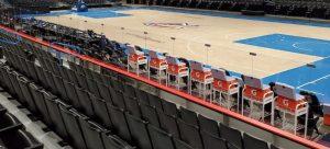 chesapeake arena acrylic covid walls_knox glass company