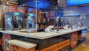 chesapeake arena acrylic countertop covid 10 shields_knox glass company